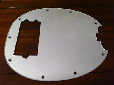 Mirror Scratchplate Pickguard For Musicman Stingray.
