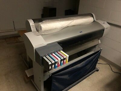 Epson Stylus Pro 9600 Large Format Printer in working condition
