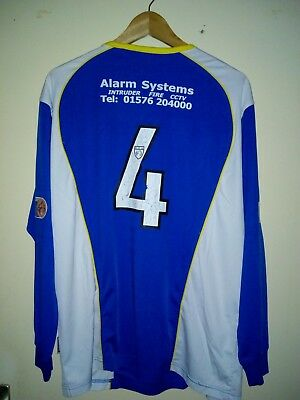 Queen Of The South Match Worn Shirt, Spielertrikot #4.