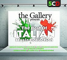 The Gallery Presents the Best of Italian Music Col by V... | CD | condition good