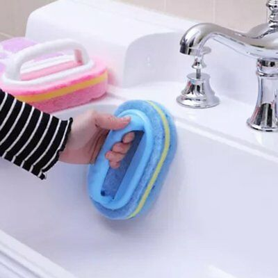 Kitchen Cleaning Bathroom Toilet Kitchen Glass Wall Cleaning Bath Brush QG
