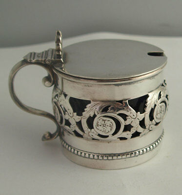Fine Quality Silver Plated Mustard