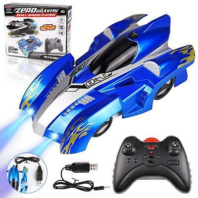 Remote Control Car Rechargeable Fast Vehicle RC Car Dual Mode 360° Rotating Wall