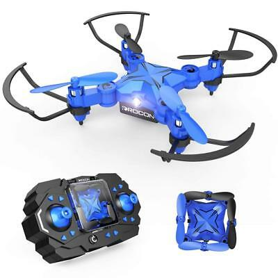 DROCON Mini RC Drone for Kids, Portable Pocket Quadcopter with Altitude Hold...