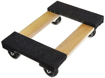 Furniture Dolly 1,000 Lb. Capacity 18 In. X 12 In. Mover Moving Carpeted Ends