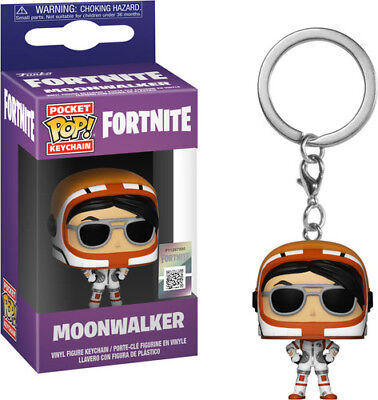 Fortnite S1a - Moonwalker - Funko Pop! Keychain: (2018, Toy NUEVO)