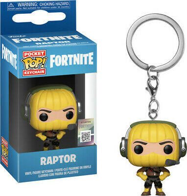 Fortnite S1a - Raptor - Funko Pop! Keychain: (2018, Toy NUEVO)