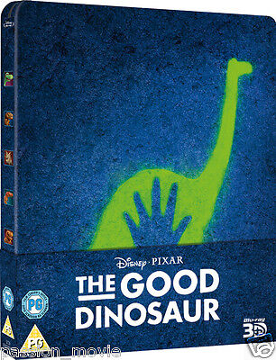 The Good Dinosaur 3D - Limited Edition Steelbook (Blu-ray 3D + 2D) *BRAND NEW*