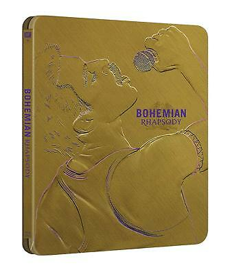 Bohemian Rhapsody (STEELBOOK) (2018) (Blu-ray) (Region Free) (New)