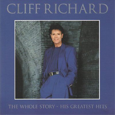 CLIFF RICHARD - The whole story - His greatest hits - CD album (2 CDs, 46 tracks