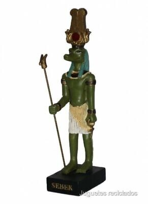 SEBEK Figure Ancient God Egypt 3.9-5.9 inches Resia Pharaoh
