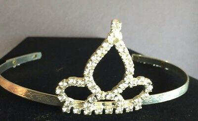 Rhinestone Pageant Tiara Wedding HALLOWEEN Costume Quinceanera Sparkling crown