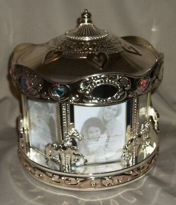 LENOX ROTATING CAROUSEL FRAME BOX NEW (Display) Selling off my entire collection