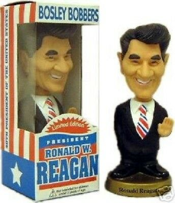 "Bosley Bobblehead Doll 7"" Ronald Reagan LIMITED EDITION NIB PRESIDENT"