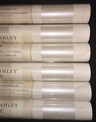 Laura Ashley Lille Sable wallpaper rolls Price Per Roll New - 14 Available