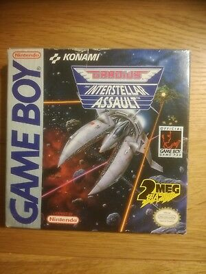 Gradius Interstellar Assault - Game Boy GB inkl. Konami Folder