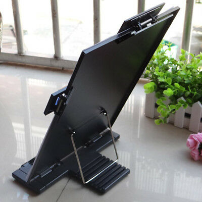 1 pc Reading Rack Metal Durable Typing Desk Holder Bookrest Book Stand for Draft
