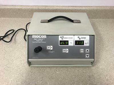 Mocon Pac Check Model 650 Dual Head Space Analyzer