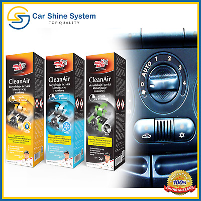 Car Air Con Cleaner AC Conditioning Clean Bomb Spray Kills Bacteria NEW CAR