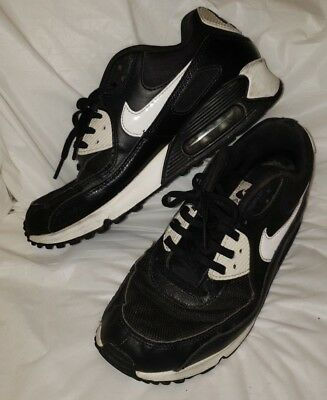 promo code 0f72e bc625 Nike Air Max 90 Essential 616730 023 Black White Women s Shoes Sneakers Sz  8.5