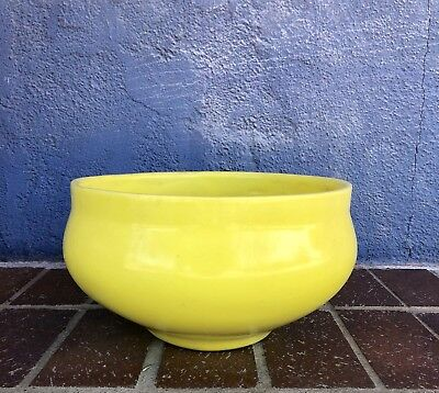 David Cressey Yellow Glazed Ceramic Bowl For Architectural Pottery