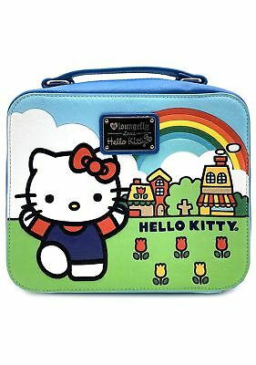 73294249bfaf Loungefly x Sanrio HELLO KITTY SCENERY SHAPED LUNCH BOX Crossbody Bag