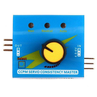 Adjustment Steering Gear Tester CCPM 3 Mode ESC Servo Motor for RC Helicopters