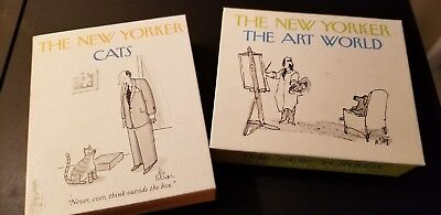 The New Yorker Cats & Art World Note Cards