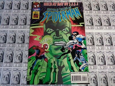 Untold Tales of Spider-Man (1997) Marvel - #4, Measure of a Man, Busiek, VF+