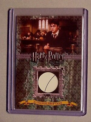 Harry Potter-HBP-Authentic-Prop Card-Advanced Potion Making Book Pages-P2