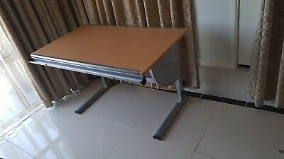 Drafting Table Drawing Desk Art Hobby Height Adjustable Tiltable Office Stude