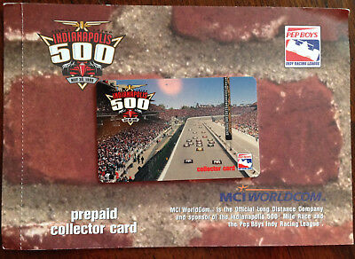 Collectible Prepaid Phone Card 83rd  Indianapolis 500