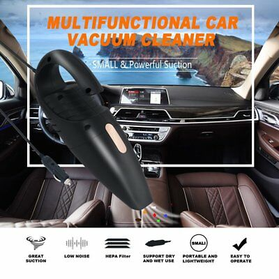 Car Vacuum Cleaner 12V For Auto Mini Hand held Wet Dry Small Portable 12 M9