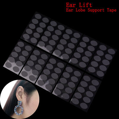 100Pcs Ear lobe tape invisible lift support prevent stretched or-torn protective