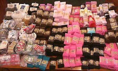 Bulk Lot 173 Pair Of Country Kids Tights And Socks - Retail: $1625 NEW WITH TAGS