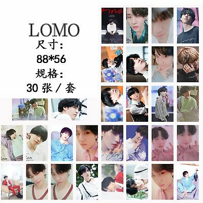 KPOP GOT7 Album Lullaby Lomo Card YuGyeom Personal Posters Photo Card 30pcs/set