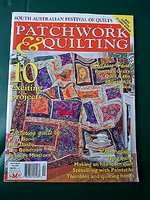 Australian Patchwork & Quilting - Vol.17 No.12 - Craft Magazine + Patterns
