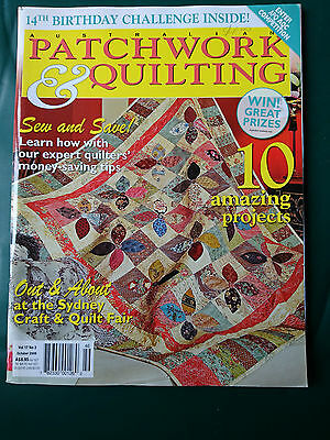Australian Patchwork & Quilting - Vol.17 No.3 - Craft Magazine + Patterns
