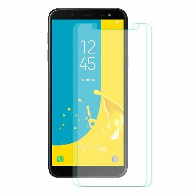 Arc Tempered Glass Screen Protector Film For Samsung Galaxy J6 2018 2pcs SP