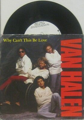 """Van Halen  Why can't this be love / get up , 7"""" 45"""