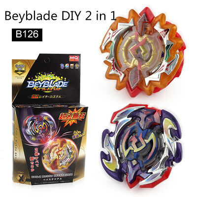 Beyblade BURST B-126 Spinning Cool Muso DIY Sun and Moon Double God DUO ECLIPSE