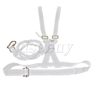 170cm Rope Fall Protection Safety Harness with Snap Hook Lanyard Height Work