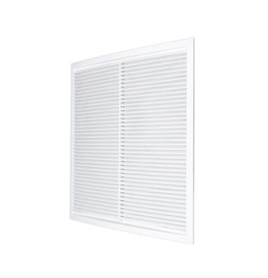 Air Vent Grille 340mm x 340mm with Fly Screen Ducting Cover Grid 13.4""
