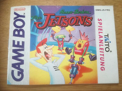 * The Jetsons * DGM-JS-FRG - Game Boy original Anleitung only Manual