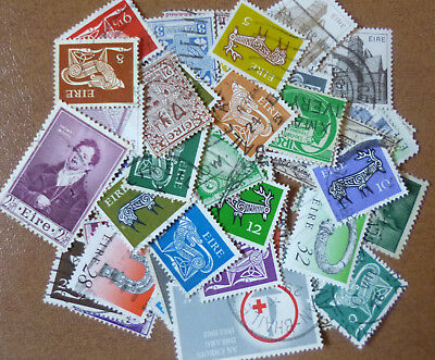 IRELAND STAMP COLLECTION PACKET of 50 DIFFERENT Stamps
