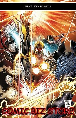 Black Order #3 (Of 5) (2019) 1St Printing Tan Main Cover Marvel Infinity Wars