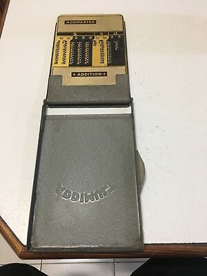 Vintage Addmaster Manual Calulator Addimult Manual Adding Machine Calculator