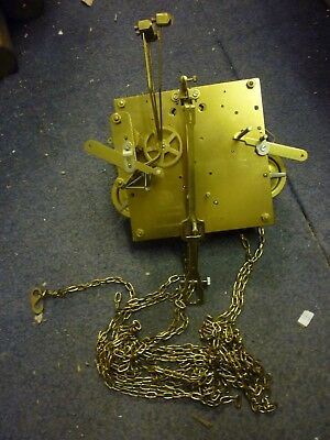 Kieninger Triple Weight Longcase Movement For Spares Or Repair