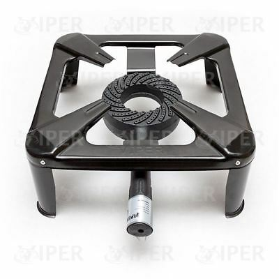 Large Heavy Duty Cast Iron LPG Gas Burner Cooker Boiling Ring Outdoor Restaurant