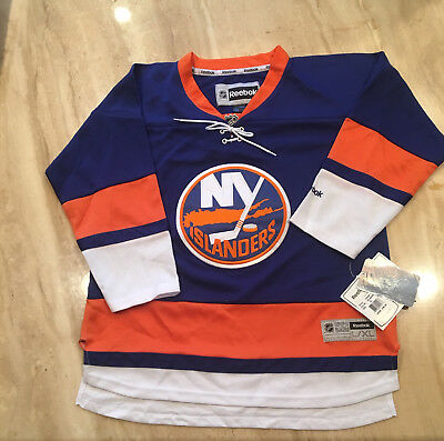 premium selection 2400a 5be3b NEW YORK ISLANDERS REEBOK NHL PREMIER JERSEY Blue-Youth size XL